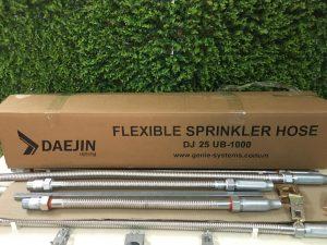 Ống mềm nối sprinkler DJ25UB dài từ 2m đến 3,5m