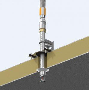 Ống mềm nối đầu phun sprinkler Tyco: TY-4951 Đầu phun quay lên