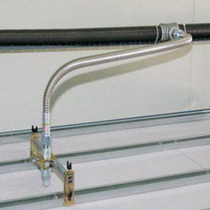Ống mềm inox nối đầu phun sprinkler Tyco: TY-4851 Sprinkler quay lên