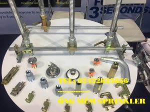 "Dây mềm inox DN25(1"") nối sprinkler DN15(1/2"") áp lưc 16bar, dài 1500mm, FM/ UL/LPCB."