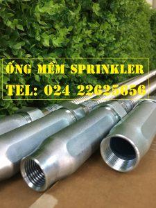 "Dây mềm inox DN25(1"") nối sprinkler DN15(1/2"") áp lưc 16bar, dài 2000mm, FM/ UL/LPCB"
