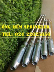 """Dây mềm nối sprinkler DN20(3/4"""") 700mm, 16kg/cm2-16bar, UL/FM"""