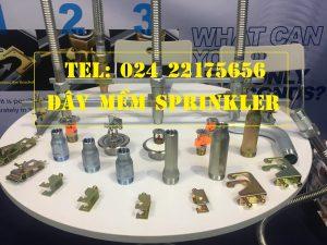 Dây mềm DN25 Inox nối sprinkler DN15, dài 700mm, 12kg / 12kg/cm2 UL LPCB