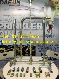 Dây mềm nối đầu phun sprinkler có vỏ bện dài 700mm