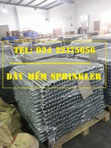"Dây mềm 1""(DN25) Inox nối sprinkler 1/2"" (DN15), dài 1000mm, 14bar – 14kg/cm2 UL LPCB"