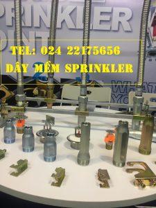 Ống mềm nối sprinkler có vỏ bện DJ25UB1500 chứng nhận FM