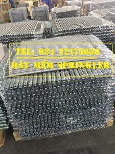 Dây mềm nối sprinkler dài 1500mm có vỏ bện Inox – hãng Daejin